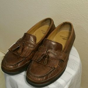 MENS Sinclair Leather Casual Kiltie Loafer Shoe